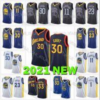Stephen 30 Curry Jerseys State GoldenGuerriersJames 33 Wiseman Draymond 23 Green d'Angelo 1 Russell Klay 11 Thompson Basketball