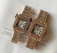 Sıcak Üst Marka Lüks İzle Kadınlar Takvim Siyah Bay Tasarımcısı Elmas Saatler Toptan Yüksek Kalite Kadınlar Elbise Gül Altın Saat Reloj Mujer