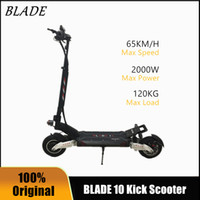 2020 NUEVA Blade 10 Kick Scooter 60V 2000W Off-Road Smart Scooter eléctrico 20Ah 28Ah Plegable Dual Motor Doble Motor