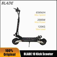 2020 새로운 블레이드 10 스쿠터 60V 2000w 오프로드 스마트 전기 스쿠터 20Ah 28Ah Foldable 10 인치 듀얼 모터 스케이트 보드