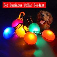 LED Klip-on Pet Güvenlik Işık Pet Aydınlık Kolye Açık Seyahat Köpek Güvenlik Kolye Pet Malzemeleri Toptan