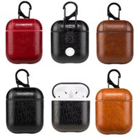 Leather Airpods Case for Airpods PU Protector Cover Fashion ...
