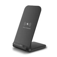 15 Вт быстрое беспроводное зарядное устройство складной 15W QI зарядки для Samsung S20 Huawei Xiaomi iPhone 12 Pro Max XS WJJDZ