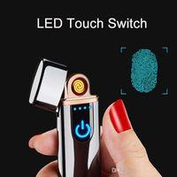 Usb Charging Briquet Creative Creative Creative Electronic Cigarette Touch Touch Touch Ignition Induction Compact et pratique Livraison gratuite