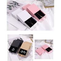 보석 상자 발렌타인 데이 선물 포장 상자 반지 목걸이 귀걸이 포장 상자 서랍 보석 상자 9 * 9 * 3.2cm FFF4643