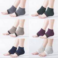 Calzini durevoli prevengono la pressione del piede che cracking moda resistente all'usura donna uomo calza yoga rifornimenti all'aperto assistenza sanitaria 3 4qt k2