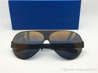 جديد الرجال النظارات الشمسية إطار خفيفة بدون مسامير franz الطيار الإطار مع عدسة مرآة خفيفة إطار الذاكرة السبائك الشمسية المتضخم