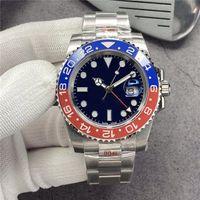 N Factory 116710LN 2836 Orologio da uomo Macchinari in vetro Sapphire 40mm orologio automatico AUTOMATICO ANELLO CERAMICA Luminoso 904L impermeabile 100m