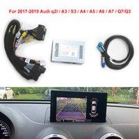 Adaptador de interface de câmera de vista traseira do carro para 2017-2019 Audi Q2L / A3 / Q3 / S3 / A4 / A5 / A6 / A7 / Q7