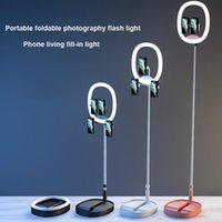 Flaş Kafaları Pogny Po Studio Katlanabilir Uzatma 7200mA Selfie Işık Telefon Oturma Masaüstü Pomanyası Yüzük