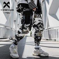 Мужские брюки 11 Bybb's Dark Tactical Pochwork Camouflage Man Harajuku Joggers Men Trusers Streetwear Hip Hop Функция