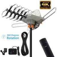 Antena HDTV Amplificada TV Digital Antena 150 Milhas Revendedor 360degree Rotação Ao Ar Livre