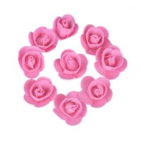 500 teile / los Diese Blüten werden verwendet, um Flores-künstliche dekorative Rosen zu dekorieren