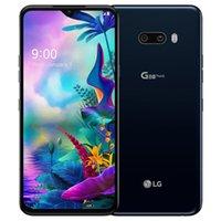 تم تجديده الأصلي LG G8X THINQ G850UM 6.4 بوصة Octa الأساسية 6 جيجابايت RAM 128GB ROM 13MP 4G LTE مقفلة الهاتف الخليوي المحمول الذكية 5 قطع