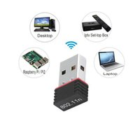 Nano 150M Wifi Adapter Mini USB IEEE 802.11n support 64  128 bit WEP WPA Encryption for Windows Vista MAC Linux