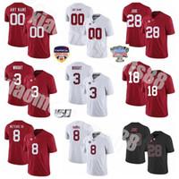 NCAA Alabama Crimson Tide College Football 3 Daniel Wright Jersey 28 Josh Jobse Christian Harris Labryan Ray John Metchie III الرجال النساء الاطفال