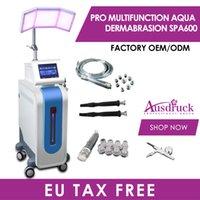 Top Qualität Multifunktions Hydra Gesicht PDT Bio-Light TherapySkin Verjüngung Falten Entfernung Haut Gesichtspflege Hydradermabrasion Spa Maschine