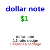 Papel dólar falso cópia falsificar dinheiro brinquedos melhor proposta cocknotes dinheiro nos miúdo 1 cópia bileto papel aderente 08 100 pcs / pack dinheiro gulo