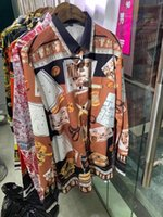 Erkek Casual Gömlek ZK01199 Moda 2021 pist lüks Avrupa tasarım parti tarzı giyim