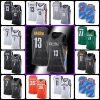 13 Harden 7 Kevin 11 Kyrie Durant Irving BlackBrooklyn.Nets Jersey Biggie Dinwiddie College Spencer Basquetebol Jersey Z2
