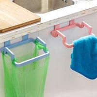المطبخ القمامة خزانة الباب الخلفي شنقا bagcabinet الباب المنظم حاملي منشفة حاملي القمامة حقيبة شماعات تخزين الرف خزانة القمامة