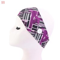 Bands Headband BbyNwH Yoga Elastic Hair Printing Stretch Vintage With Women Floral Q Accessories Klrx Holder Hairband Mask Button Pmoxf