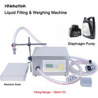 Líquido semi automático que pesa a máquina de enchimento da máquina de cozimento do óleo de água do óleo do óleo da bomba de água da bomba de água QH-G62A