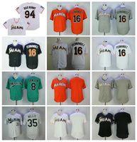 Vintage Baseball 8 Andre Dawson Jersey 16 Jose Fernandez 35 Dontrelle Willis 94 Bad Bunny mit Puerto Rican Flag Retire FlexBase Cool Base