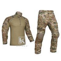 Krydex Tactical G4 Combat Uniform Set for Military Airsoft Hunting Shooting Multicam CP Style BDU Camuflaje Camisa Pantalones Kit 201211