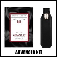 Vaporizador premium grande avançado vaporizador kit 550mAh bateria starter kit recarregável sagacidade USB cabo