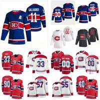 Personalizzato Montreal Canadiens Gallagher Brendan 11 Kotkaniemi Jesperi 15 Kulak Brett 77 Lehkonen Arturi 62 Uomo Donne Cucina giovani