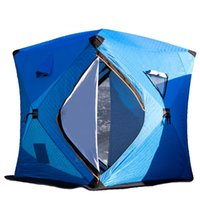 الخيام والملاجئ معزول الشتاء الجليد خيمة الصيد خيمة المأوى 3-4 شخص التخييم في الهواء الطلق السياح