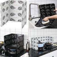 Grande tamanho Quarentine Placa de óleo cozinha fogão a gás Óleos Defle Folha De Alumínio Prevenir Respingo Alta Temperatura Calor Isolamento Saffers 5 7yl L1