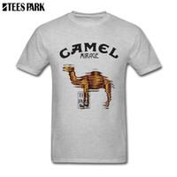 Funky T-shirt da faixa Camel Mirage camisetas Masculino Pré-Cotton T-shirt novo de chegada Top Male Classificado Camisetas 1117