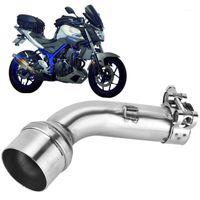 Части мотоцикла мотоцикл адаптер выхлопных выхлопных выхлопных выхлопных выхлопных выхлопных выхлопных выхлопках на соединении середины трубы середины трубки для YZF R25 R30 R31