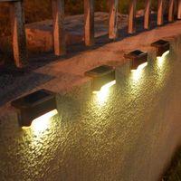 مصابيح سطح السفينة الشمسية 1 LED في الهواء الطلق ماء خطوة الإضاءة القابلة لإعادة الشحن NI-MH بطارية فئة الطاقة سياج سياج 442 N2