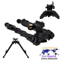 V9 Treppiede V9 Bamboo Treppiede Tactical Treppiede Treppiede Acqua Pistola in metallo Bracket BiPod Retrattile SR-5