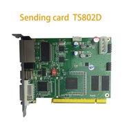 Wyświetlacz Linsn Sending Card TS802D P2 P1.5 Kryty Moduł LED Regulator Novastar WiFi