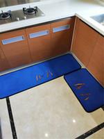 Banyo Mat 2 Parça Set Klasik Desen Tuvalet Kapağı Ayak Pedi Kaymaz Emici Banyo Kapı Mat Flanel Yumuşak Banyo Halı Halı