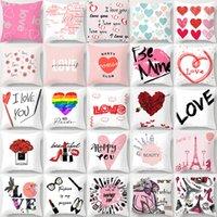 День Святого Валентина наволочка любовь диван наволочка валентинок день подарки подушки чехлы в магазин окно гостиницы День святого Валентина украшения XD24409