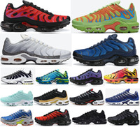 2020 Remix Pack Tn Plus Tn Black Blue Hex Mean Green Decon Da CW SE OG CV Worldwide CK Fury Camo Laufschuhe Herren Frauen TrainerSsNeakers