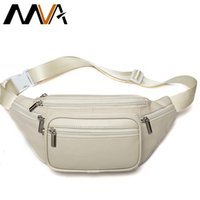 MVA Genuine Leather Belt Bag Women's Waist Bags For Women Fanny Pack Female Waist Pack Belt Waist Bag Woman Phone Bags Bumbag LJ201023