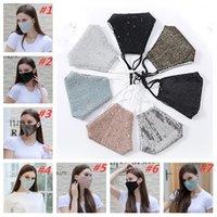 Güneş Koruyucu Yetişkin Yüz Anti-Toz Pullu Maske Moda Yıkanabilir Yumuşak Tasarımcı Maskeleri T2I51187 E30G #