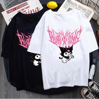 Mulheres Camiseta Rua Estética Bratz Rap Hip Hop Rua Rocha Harajuku Camisa Gótico Top Roupas Tshirt Vintage Vestuário Top Tee NVTX37001