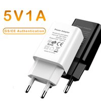 Universal 5V 1A USB Wall Travel Charger EU Plug Portable Power Adapter para iPhone Samsung Mobile Cell Thone