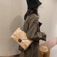 2021 ins أزياء المرأة v- خط crossbody حقيبة كيس الرئيسية الإناث رفرف حقائب الكتف سلسلة حقيبة ناعمة بو الجلود حقيبة قفل المحافظ