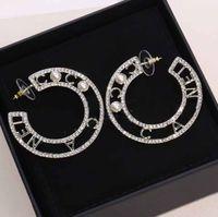 أعلى جودة نصف شكل دائري في 2.5 سنتيمتر * 4.2 سنتيمتر مع الماس ولؤلؤة للنساء مجوهرات الزفاف هدية شحن مجاني PS3685