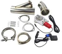 Modifica auto Telecomando elettrico Sistema di tubi di scarico in acciaio inox sistema di controllo remoto Valvola regolabile regolabile regolabile