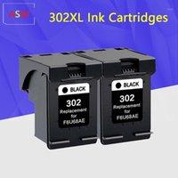 Cartuccia d'inchiostro rigenerata per 302xL 302 302xl per Deskjet 1110 2130 1112 3630 3632 3830 OfficeJet 4650 4652 Printer1