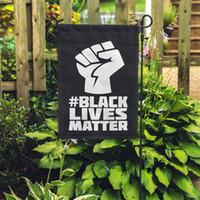 16 Stili Non riesco a respirare neri Lives Matter Bandiera Bandiera Bandiera All'aperto Casa per Parata Forniture per feste Giardino Bandiera 45 * 30 cm 6089 262 G2